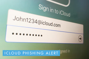 iCloud hack Phishing Alert hacking scam