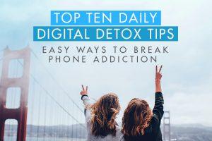 daily detox tips health lifestyle minimalist