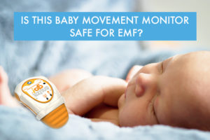 Snuza baby movement monitor measured for EMF